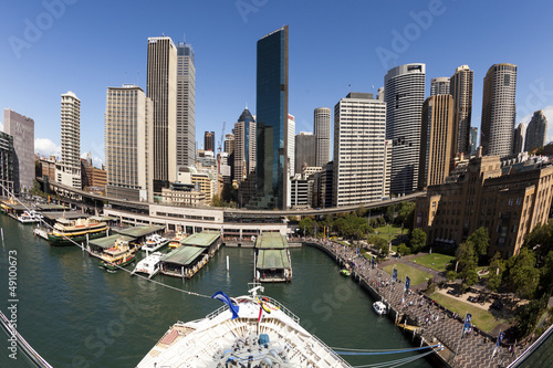City Of Sydney From A Cruise Ship