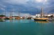 Fototapeta łódź - Katalonia - Port