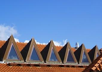 Dreieckige Dachfenster
