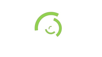 Animation chargement - vert