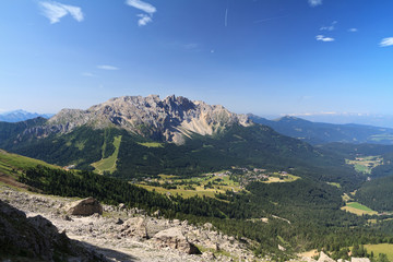 Dolomiti - Latemar mount