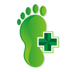 podiatrist_foot_medical_vector_logo
