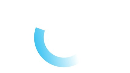 Chargement - bleu
