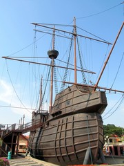 Malaysia, Malacca Maritime Museum - Flor de La Mar Nau