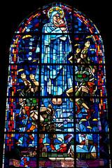 Vetrata chiesa di sainte-mère-église