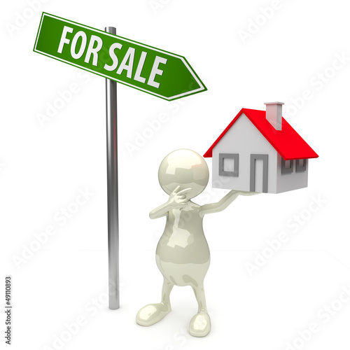 3D People house for sale