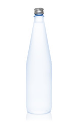Isolated blue water bottle