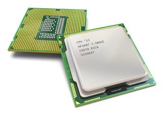 CPU. Computer's processors