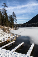 Hintersee im Winter