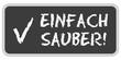 CB-Sticker TF eckig oc EINFACH SAUBER