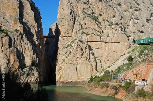 Chorro Gorge, Andalusia, Spain © Arena Photo UK