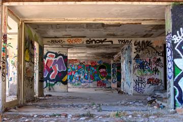 Graffiti: urban art