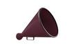 old pink megaphone