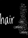 Combing Hair 10 Tips for Proper Hair Combing Concept