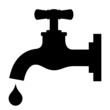 Save water vector sign