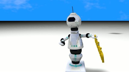Gutschein Roboter