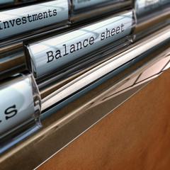 Balance Sheet, Accounting Documents, Bookkeeper