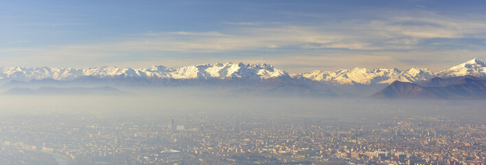View on Turin