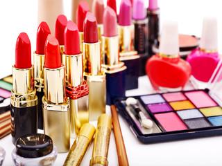 Decorative cosmetics.