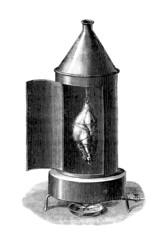 Gaz-Grill - Rotissoire à Gaz - 19th century