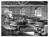 Soap Factory - Fabrication du Savon - 19th century
