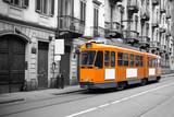Fototapeta pociąg - szynach - Kolej