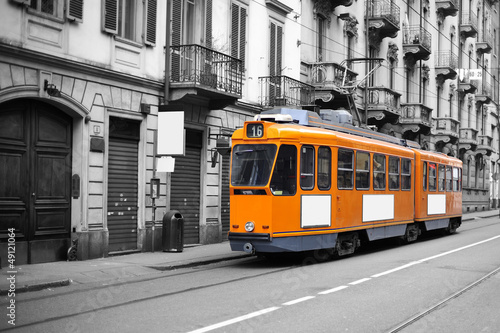 Fototapete Trainieren - Rails - Eisenbahn