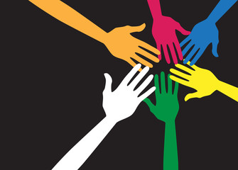 Equal hands concept