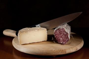 salame e formaggio