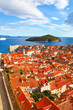 Beautiful panorama of Dubrovnik, Croatia