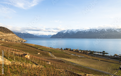Lavaux, Vineyard Terraces, Switzerland