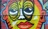 Fototapete Opuszczony - Nastolatek - Graffiti