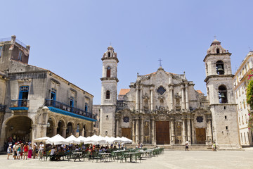The Cathedral de San Cristobal de La Havana