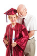 Husband Congratulates College Graduate Wife