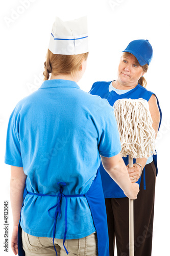 Time To Mop Up