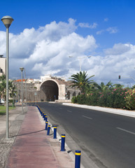 Heraklion main road view