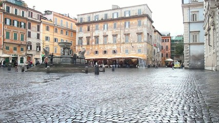 Fountain in Trastevere, Rome