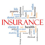 Insurance Word Cloud Concept