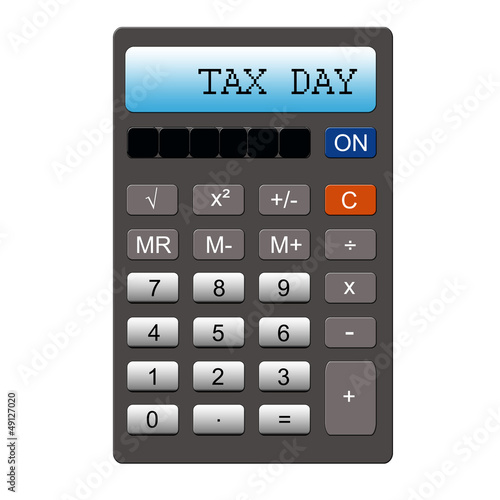 Tax Day Calculator