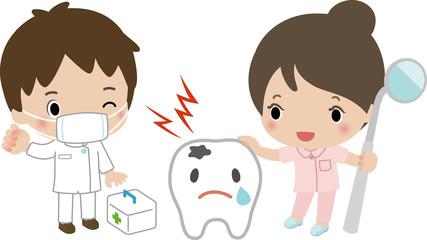 虫歯の治療イメージ