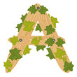 Decorative letter a