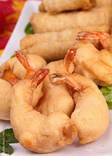 fried asia food