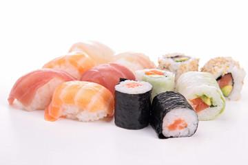 assortment of sushi