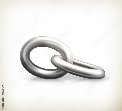 Chain link, icon
