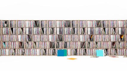 Vinyl Schallplattensammlung Platten