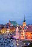 Fototapeta Boże Narodzenie - zamek - Widok Miejski