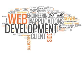"Word Cloud ""Web Development"""