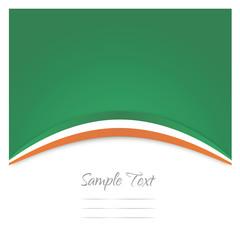 Hintergrund Wallpaper Irland Flagge