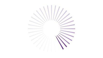 Attente - violet
