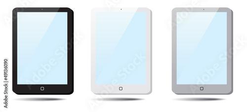 Set of speech bubbles Tablet Pad, Ipad.